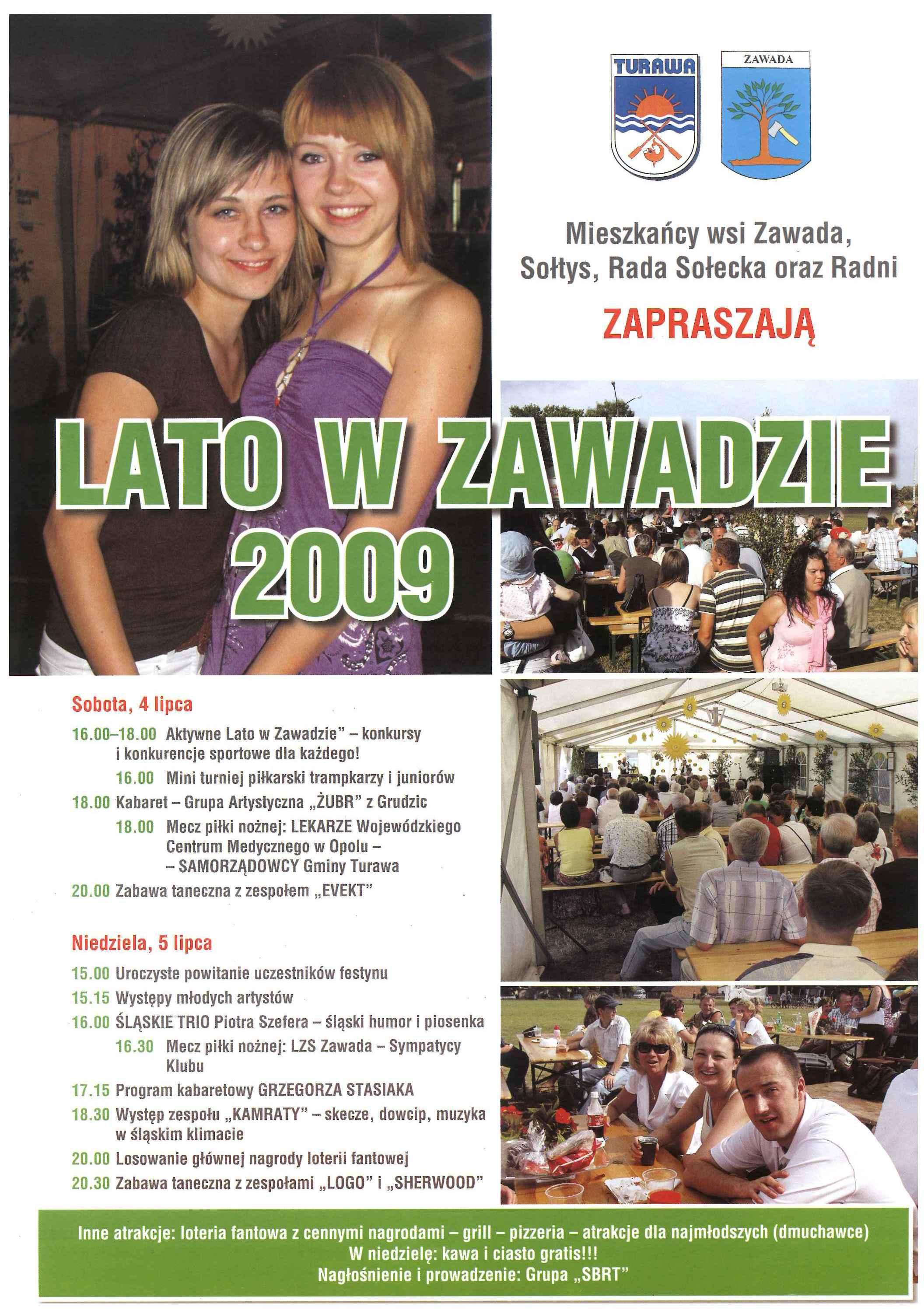 LATO W ZAWADZIE 2009