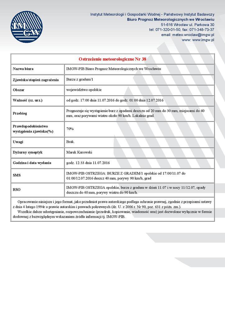 SOK IMGW - Ostrzeżenie meteorologiczne Nr 38 - woj. opolskie-page-001.jpeg