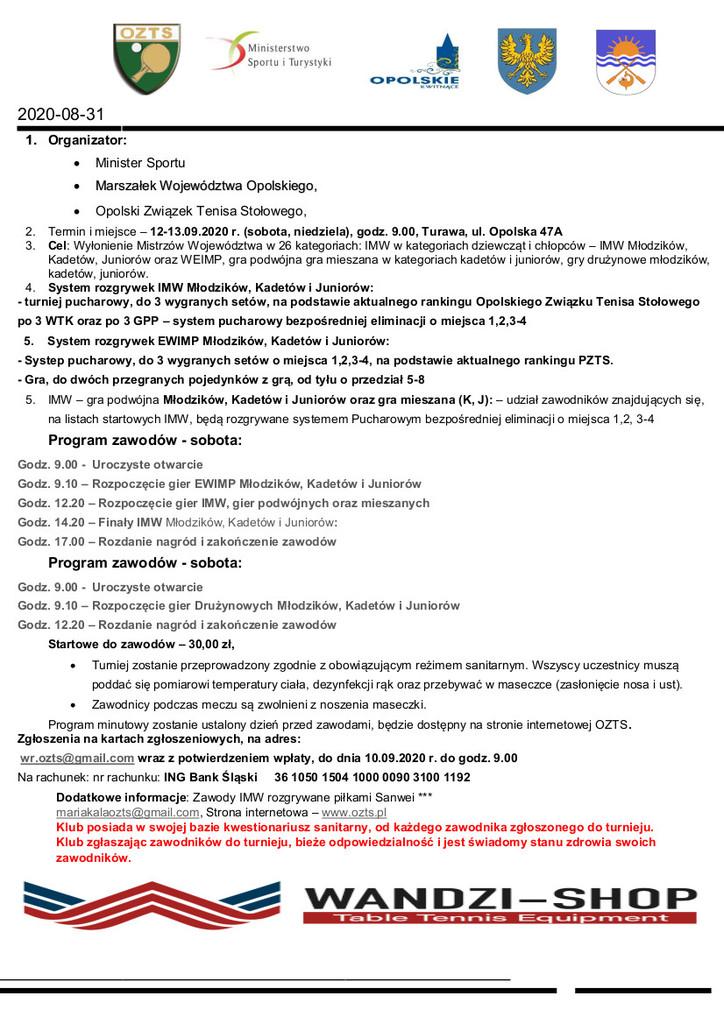 komunikat zawodów IiDMW Młodzików Kadetów i Juniorów.jpeg