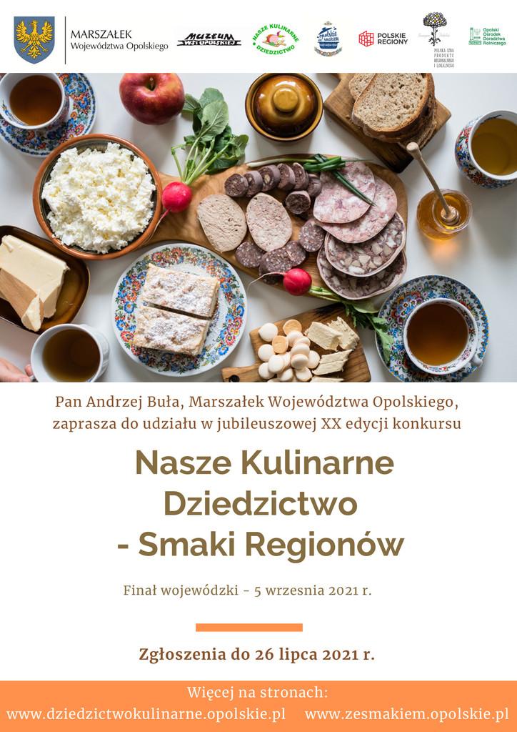 Plakat Nasze Kulinarne Dziedzictwo - Smaki Regionów.jpeg