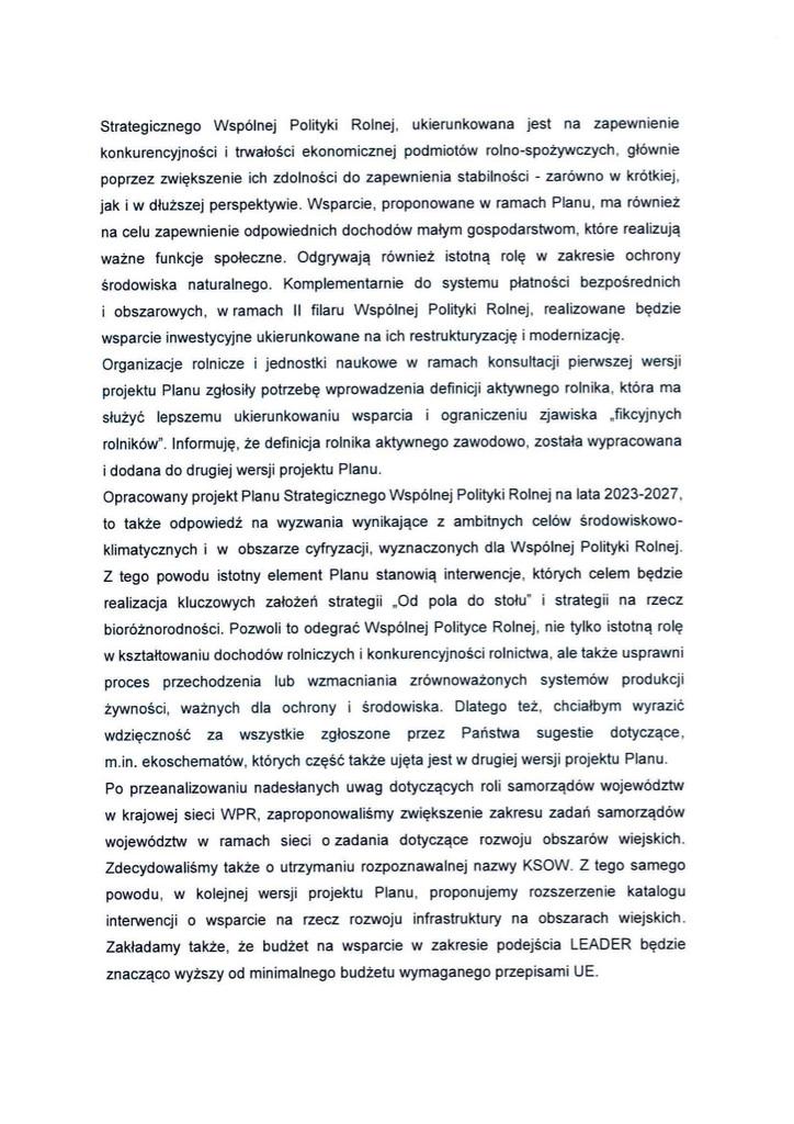Projekt Planu Strategicznego dla Wspólnej Polityki Rolnej str. 2.jpeg