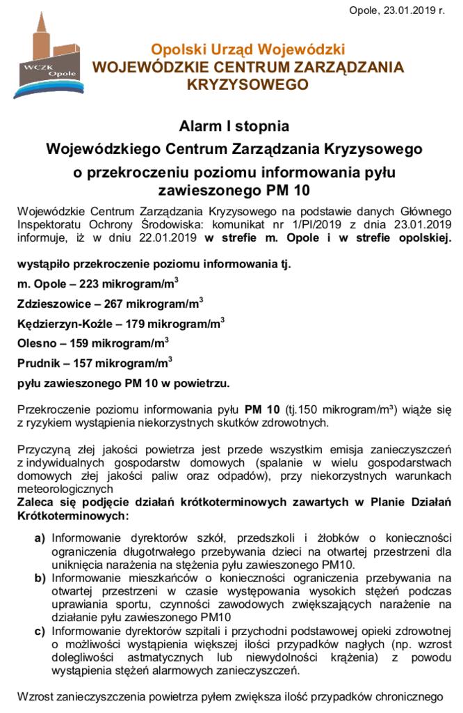 Pył zawieszony PM 10 - Alarm I stopnia-2-str.1.png