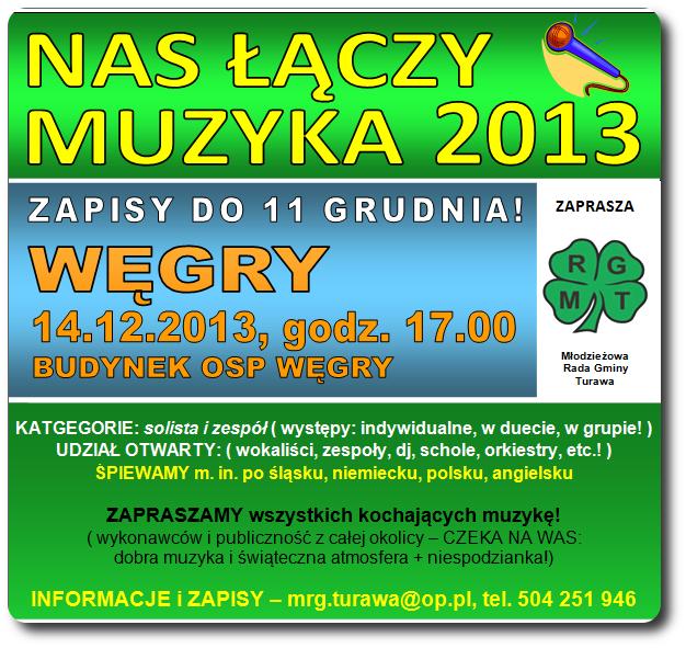 Nas Łączy Muzyka 2013 - ZAPOWIEDŹ