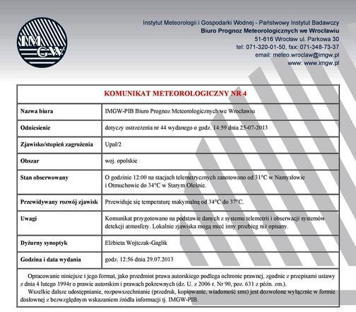 Komunikat meteorologiczny nr 4 z dnia 29.07.2013.jpeg