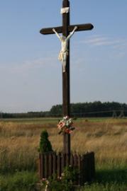 krzyż między Ligotą, Kadłubem a Zakrzowem