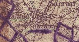 Mapa Kadłuba z 1898 roku