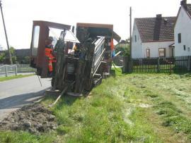 budowa kanalizacji sierpień 2011