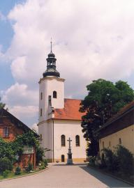 Kościół Św.Michała - latem