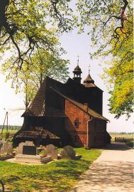 Zabytkowy Kościół w Zakrzowie Turawskim.
