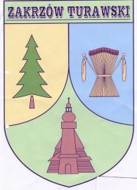 Herb Zakrzowa Turawskiego.