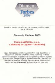 Diament Forbesa 2009